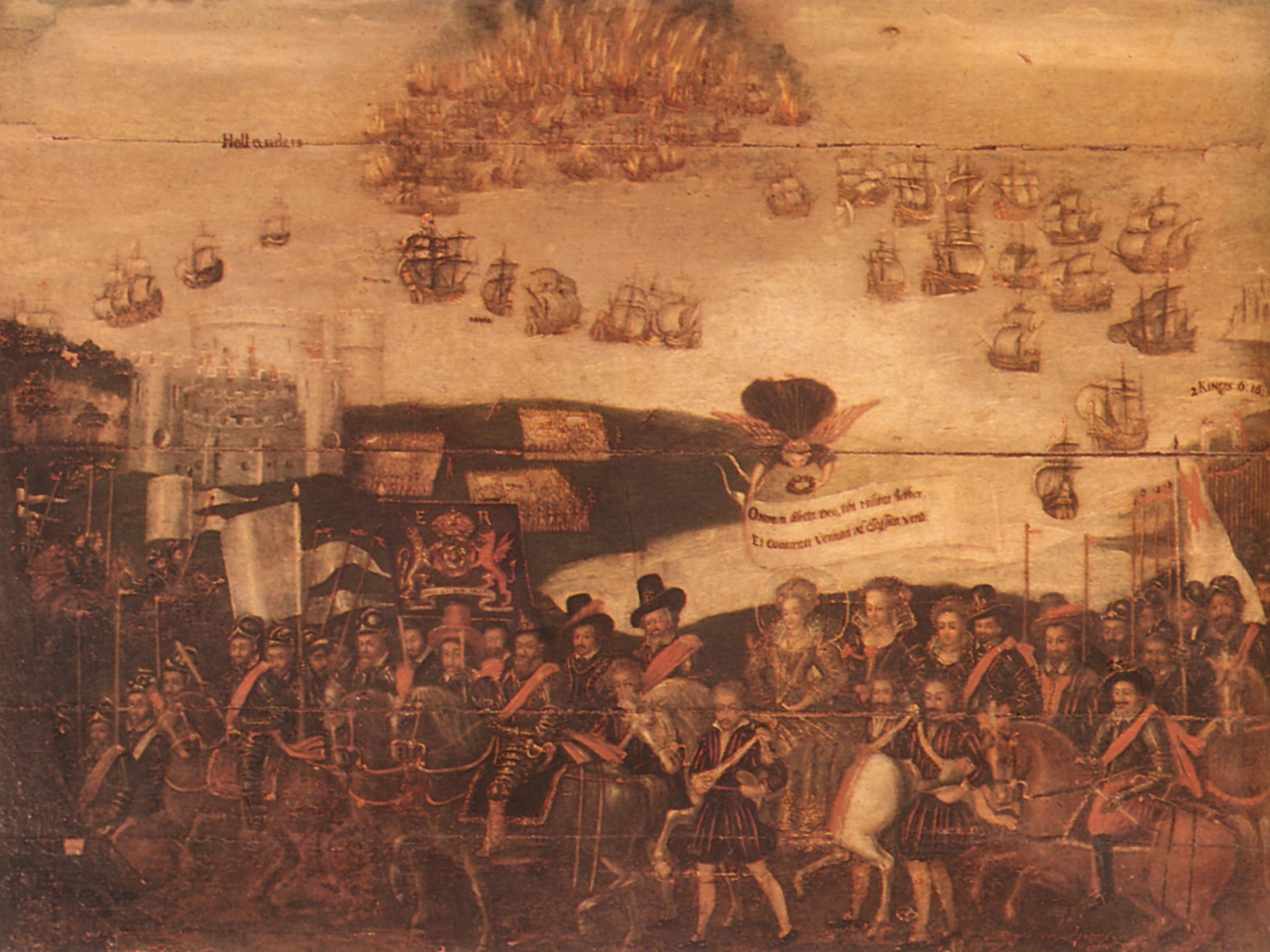 queen elizabeth spanish armada speech analysis Troops assembled there to encounter the spanish armada 1654, in which he gives the familiar text of the queen's speech2 these two texts 'miller christy queen elizabeth i s oration at tilbury camp.