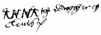 File anne of cleves wikimedia commons for Tudor signatures