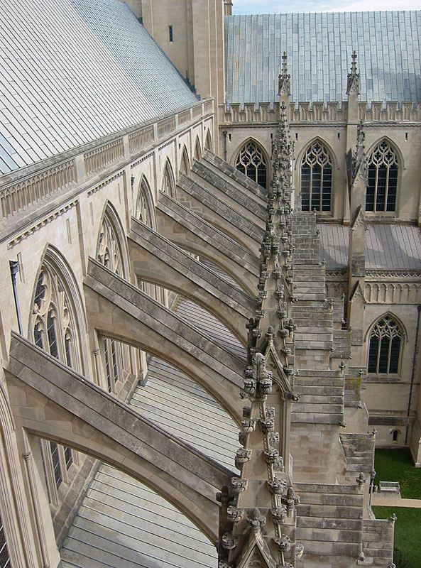 1 Close Up Of A Flying Buttress From The National