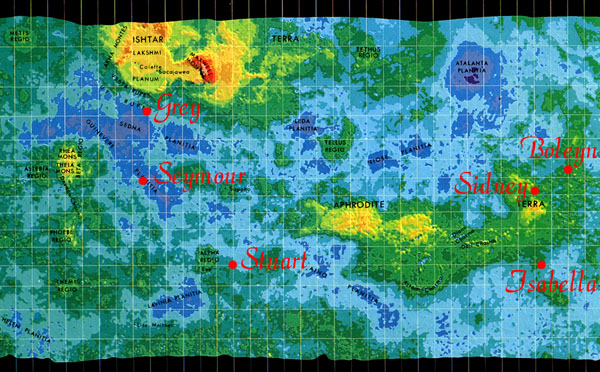printable map of planet mars - photo #45