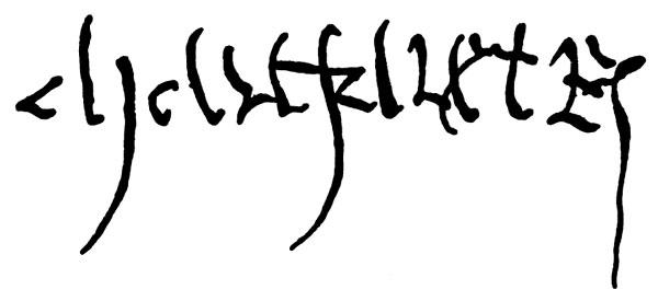 The mother of the tudor dynasty tudors dynasty for Tudor signatures