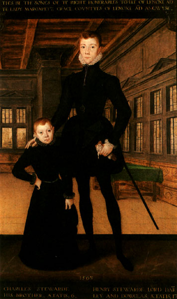 Henry Stuart, Lord Darnley age 17
