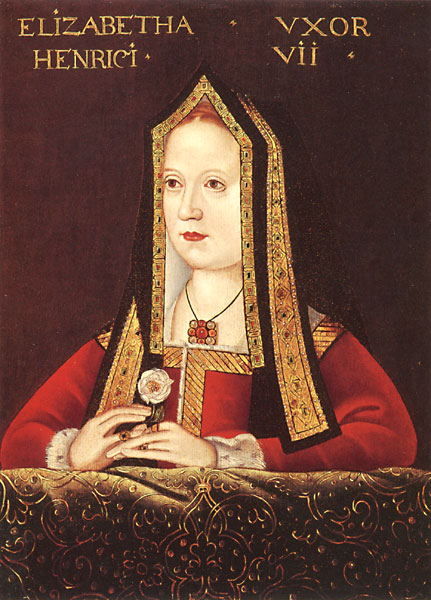Portrait of Elizabeth of York by an unknown artist