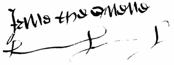 tudor signatures